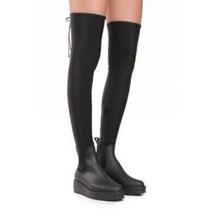 Jeffrey Campbell 6 Monsoon Over-the-Knee boots